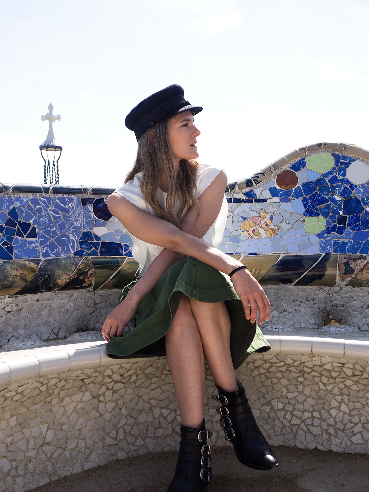 Barcelona city guide with Inspiring Wit travel and fashion blogger from Australia. Park Real
