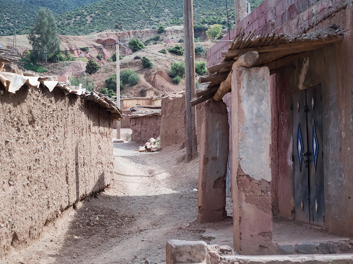 Morocco travel diary in the Atlas Mountains with Inspiring Wit travel blogger village