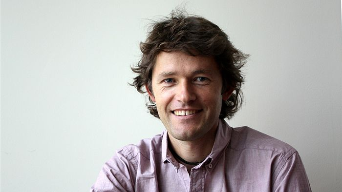 tim cope speaking at the Perth writers festival 2017