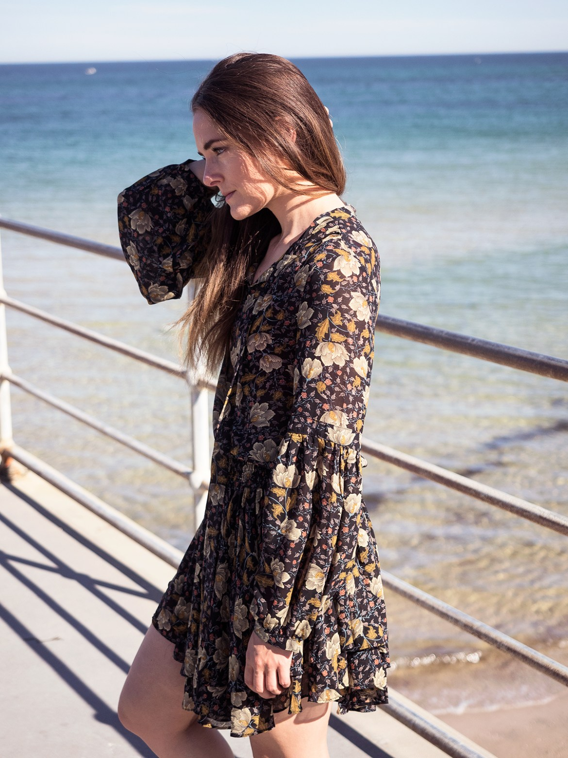 primrose print on print Bohemian Traders, Inspiring Wit Australian fashion blogger