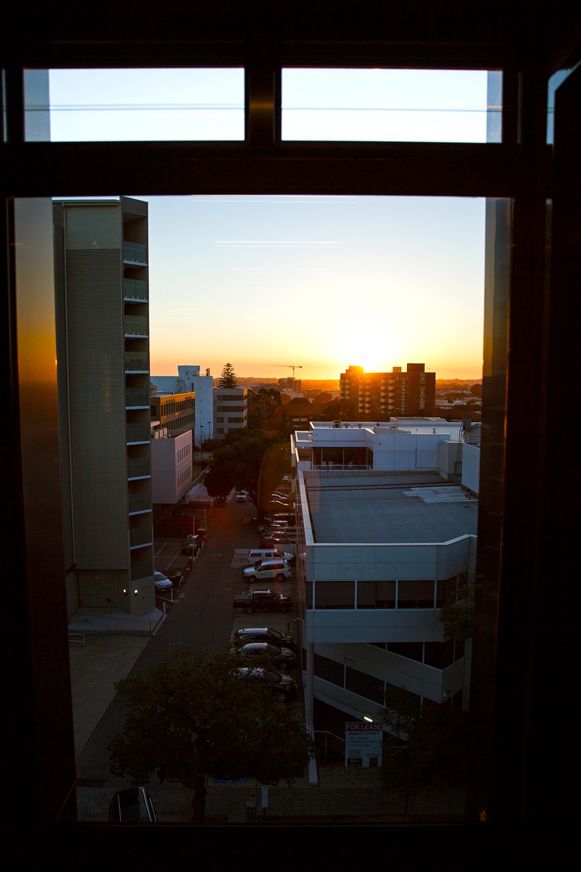 Tribe Hotel Perth, hall sunset view Jenelle from travel blog Inspiring Wit boutique hotel profile