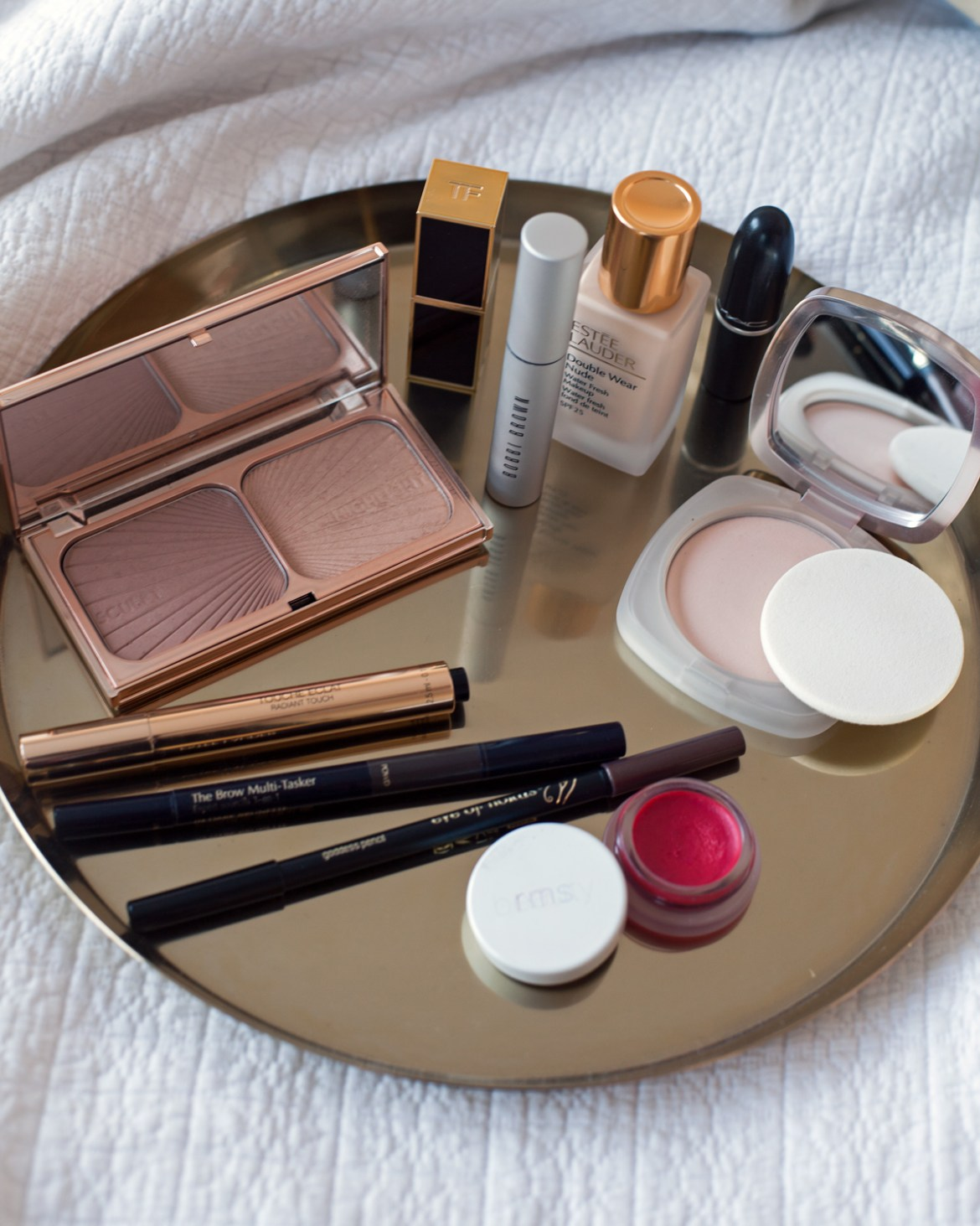 beauty blog Inspiring Wit best beauty products La Mer Eve Lom go-to skincare Bobbi Brown rms MAC
