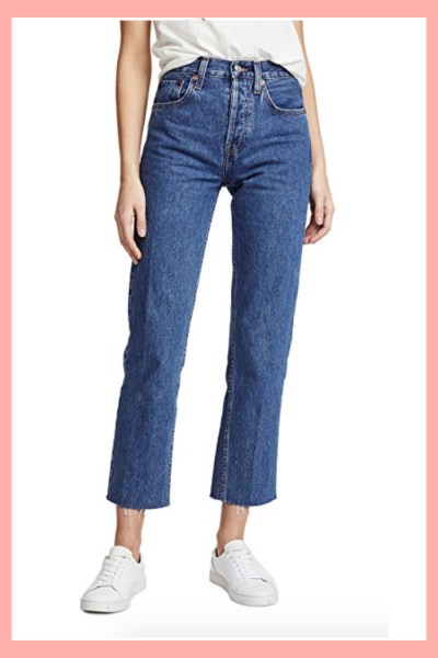 Redone stovepipe jeans on Shopbop edit by Inspiring Wit blog