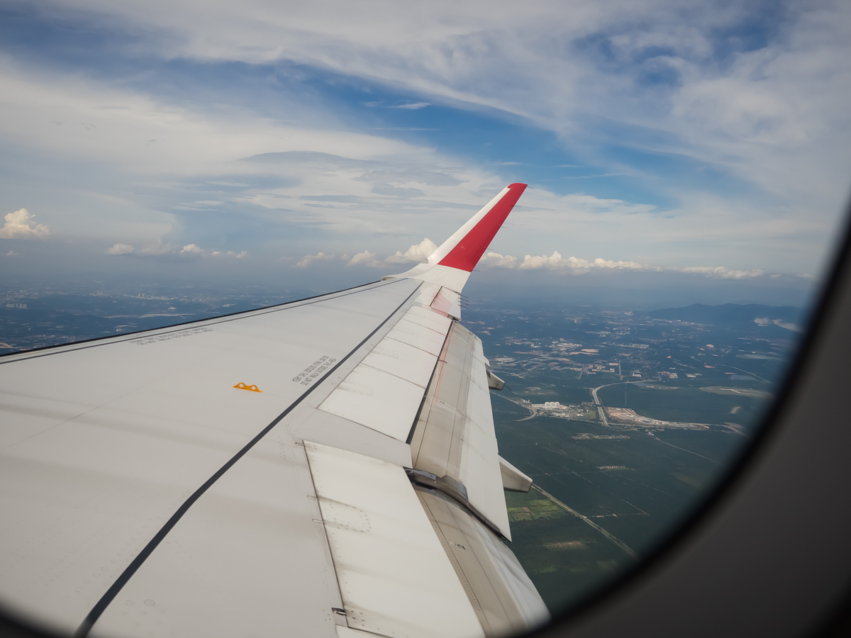 Plane AirAsia review flying from Perth to Penang with travel blogger Inspiring Wit