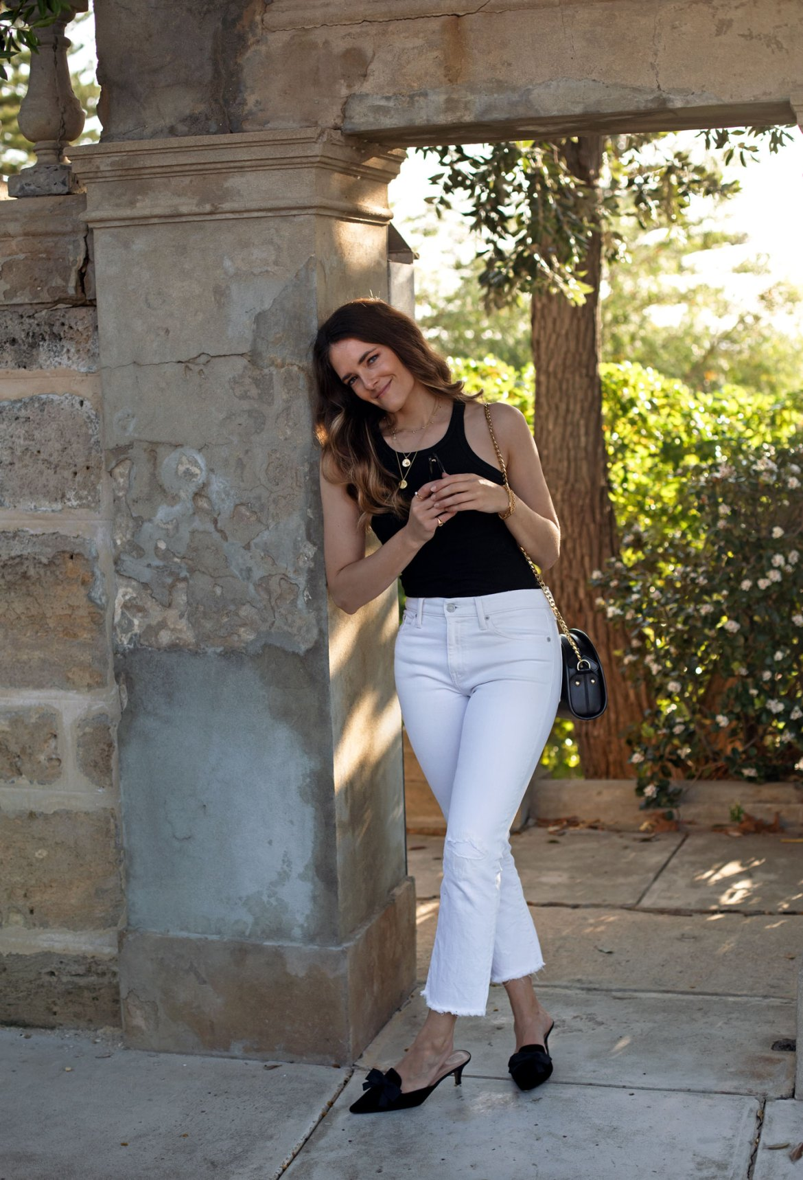 minimal but not dull an outfit idea that combines chic and understated basics with finer details