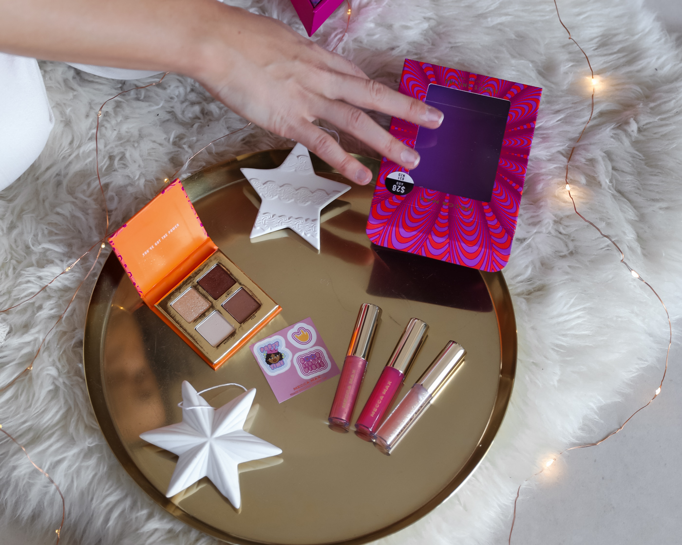 affordable beauty brand Mecca Max Christmas gift ideas for her