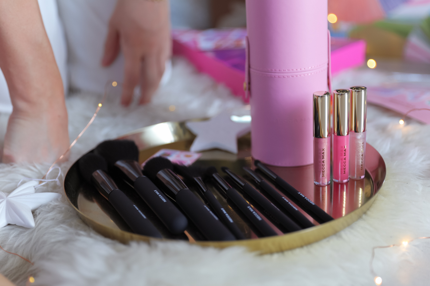 Mecca Max makeup brushes for Christmas gifts from Australian beauty retailer Mecca