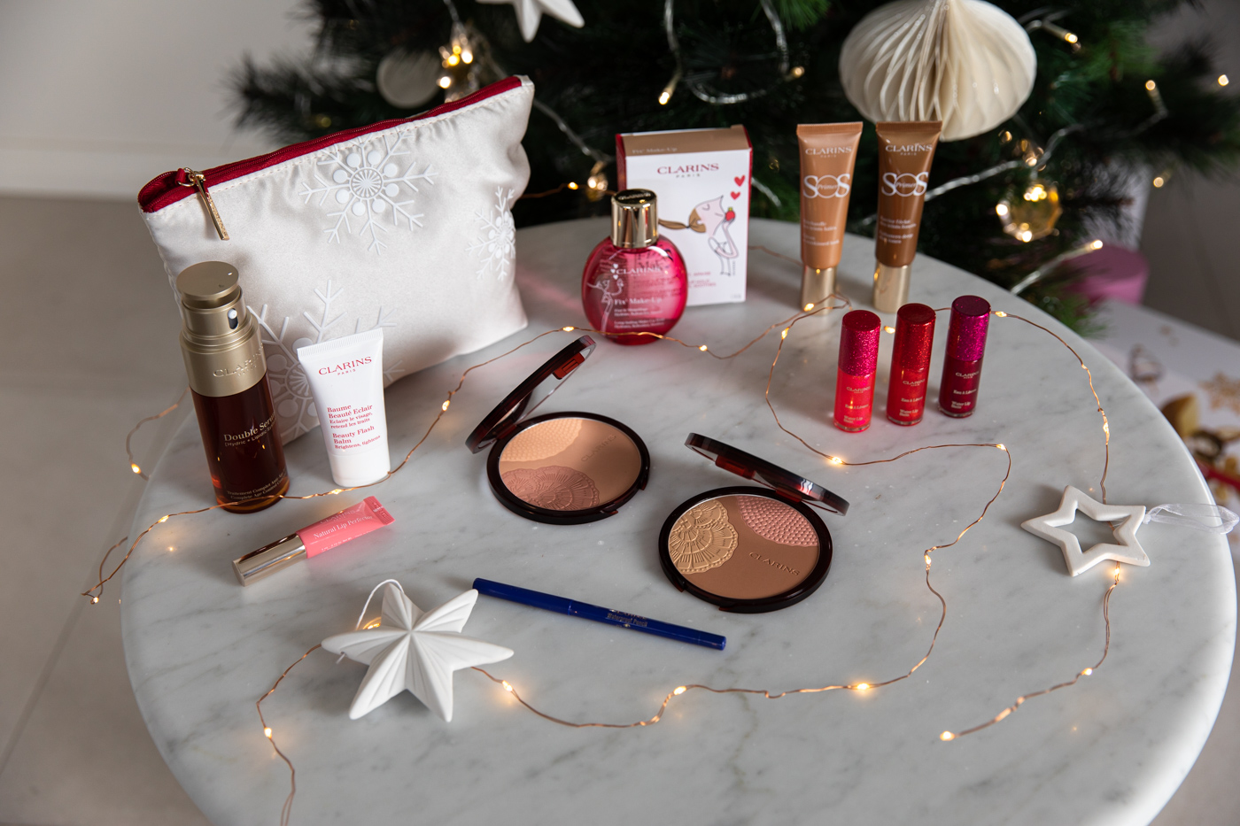 Clarins makeup and skincare ideas for Christmas gifts