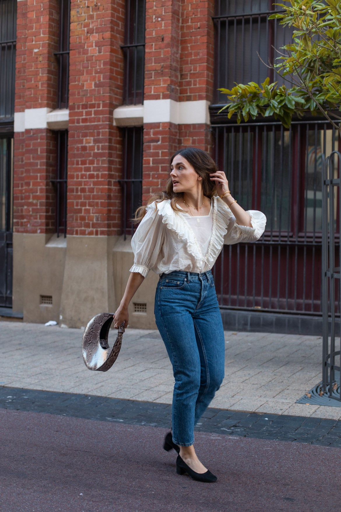 Street style blogger from Australia Jenelle Witty from the blog Inspiring Wit