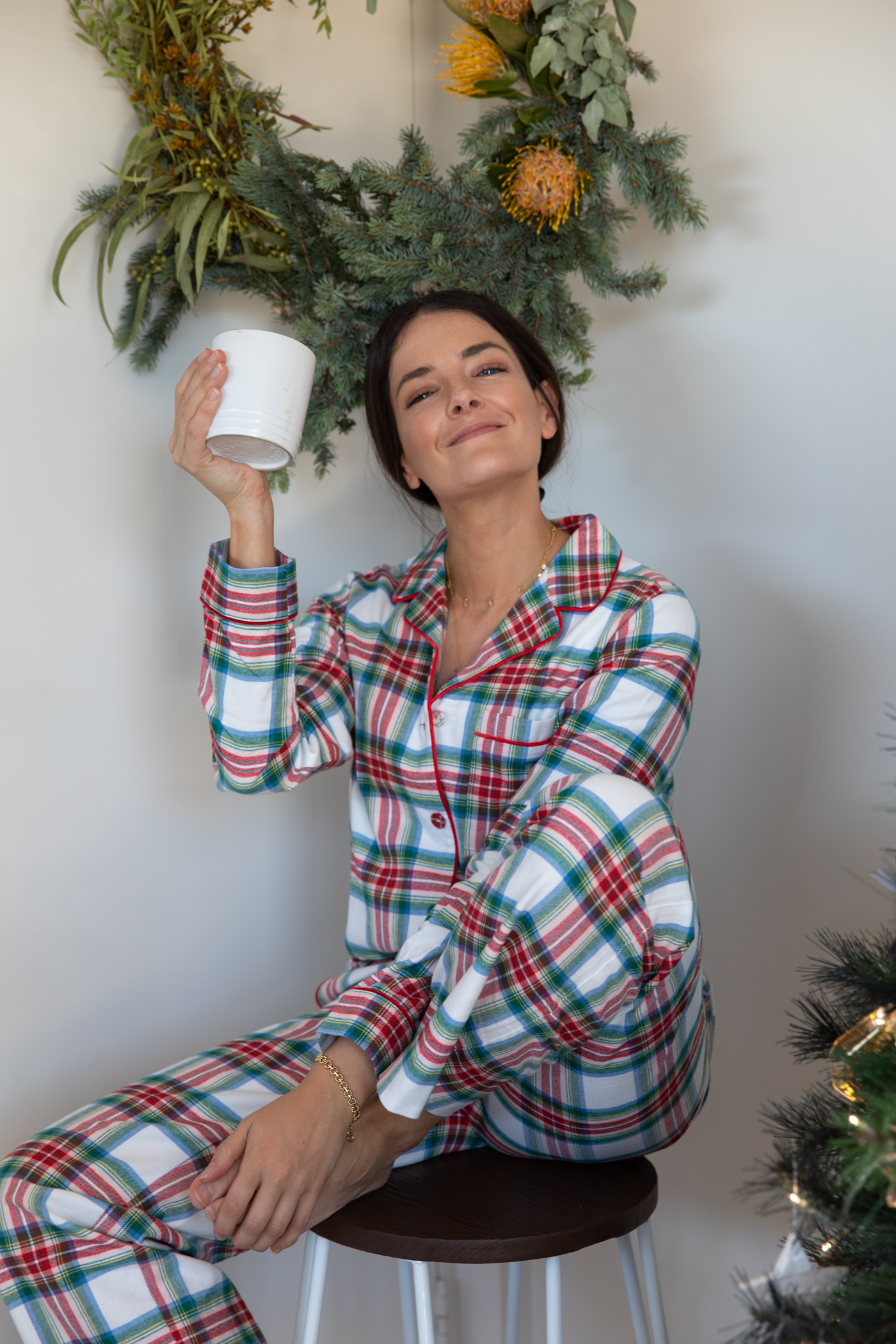 Boden pjs for Christmas at home
