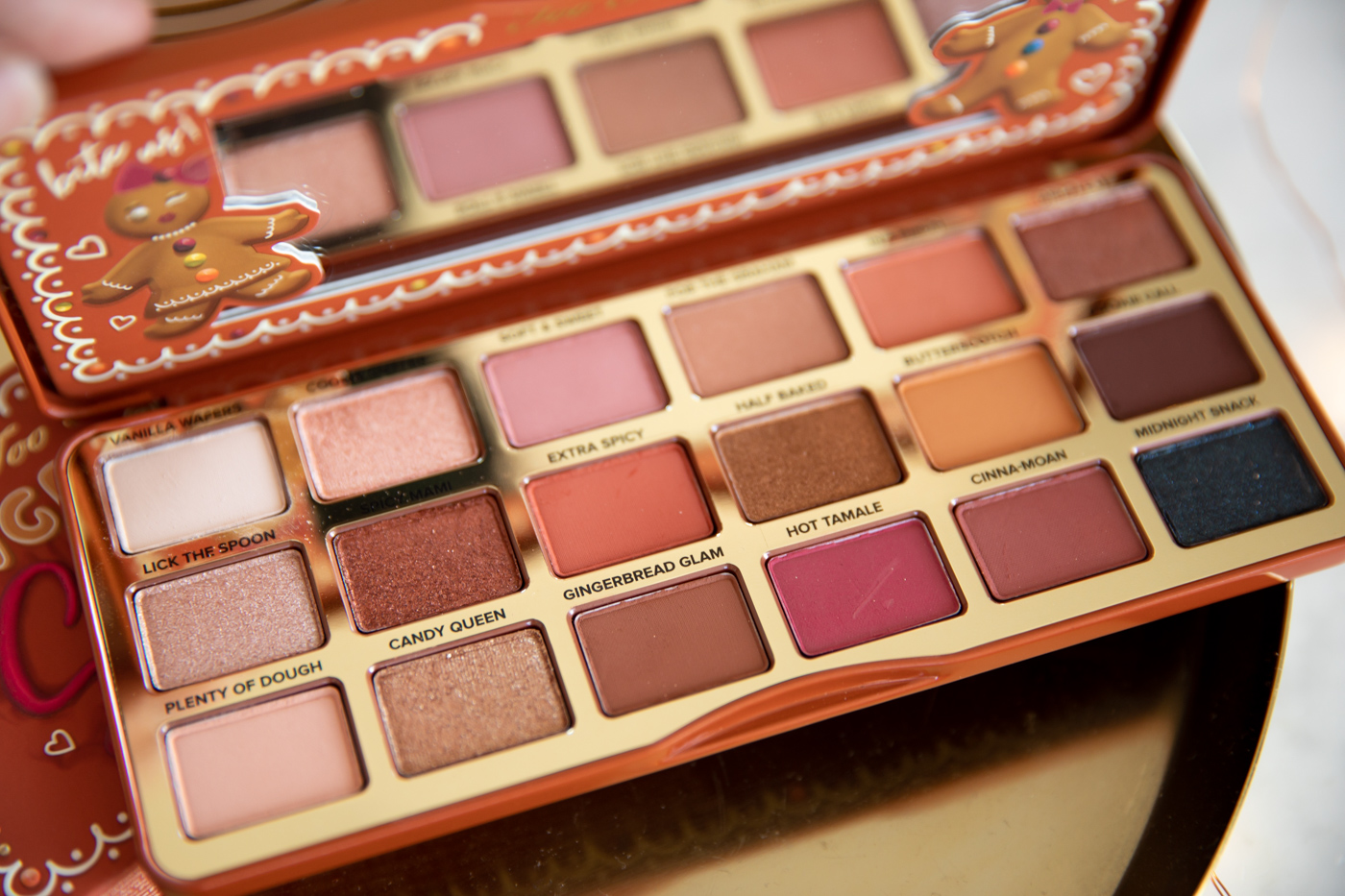 Too Faced Spiced Ginger Bread eye shadow