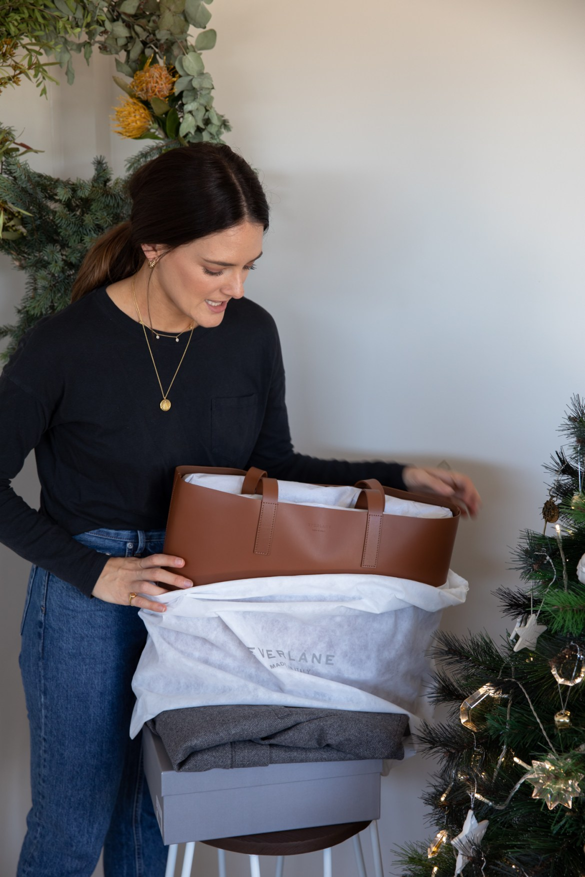The Day Market Tote from Everlane for Christmas