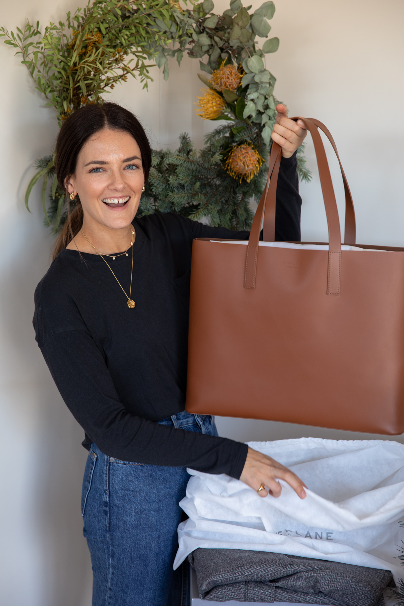 day market tote bag from Everlane