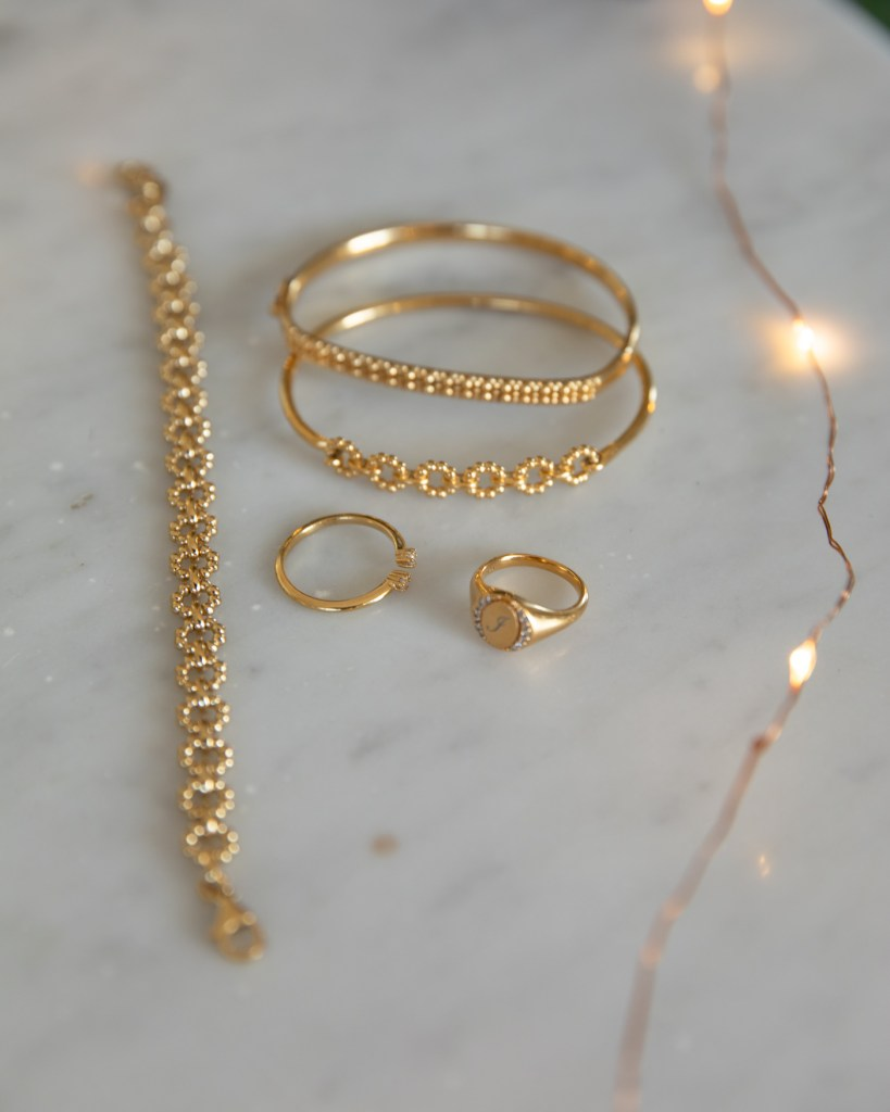 Astley Clarke jewellery in gold for Christmas