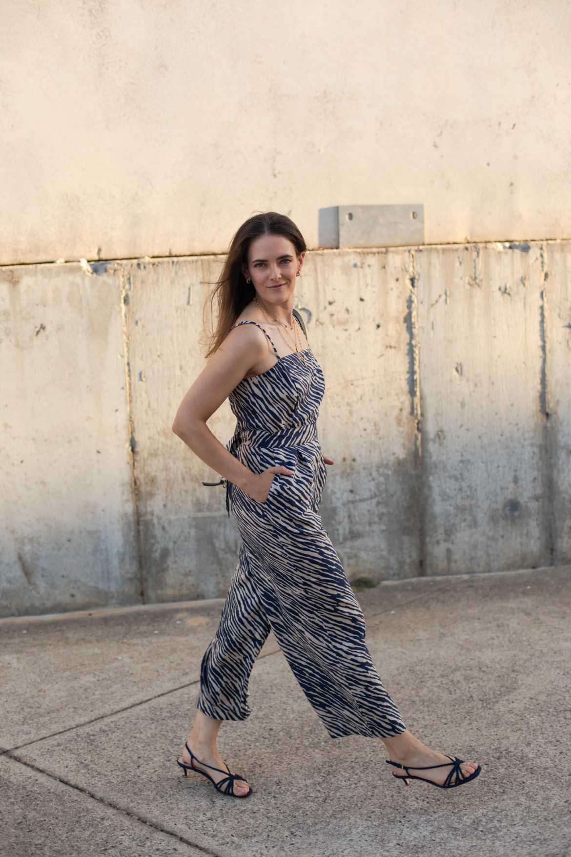 zebra print outfit idea from Boden Clothing