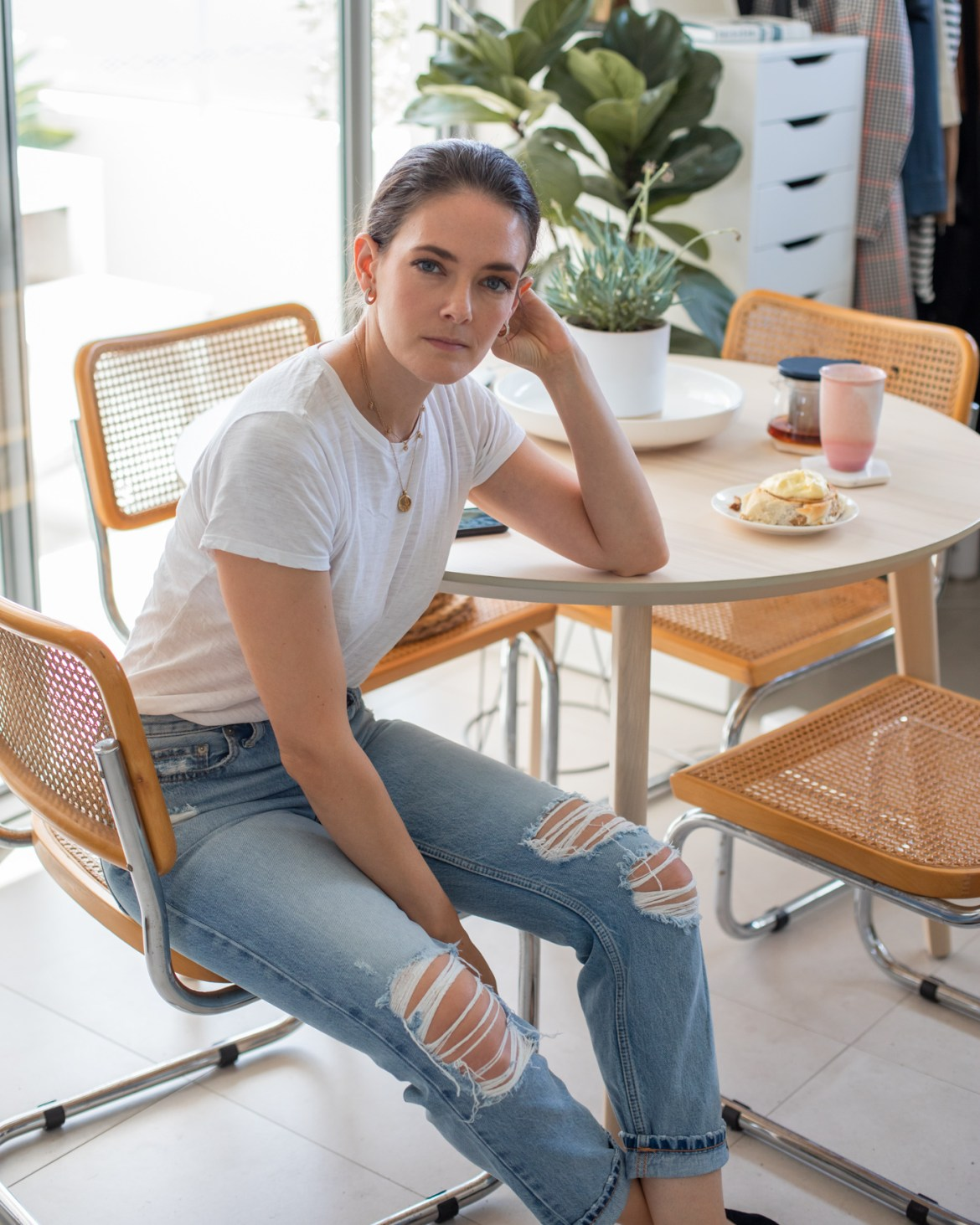 At home with Jenelle Witty from fashion and lifestyle blog Inspiring Wit in June 2020