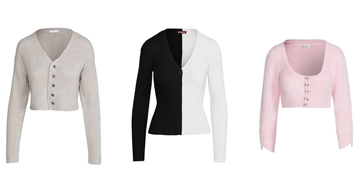three cardigans to wear for the in-between weather