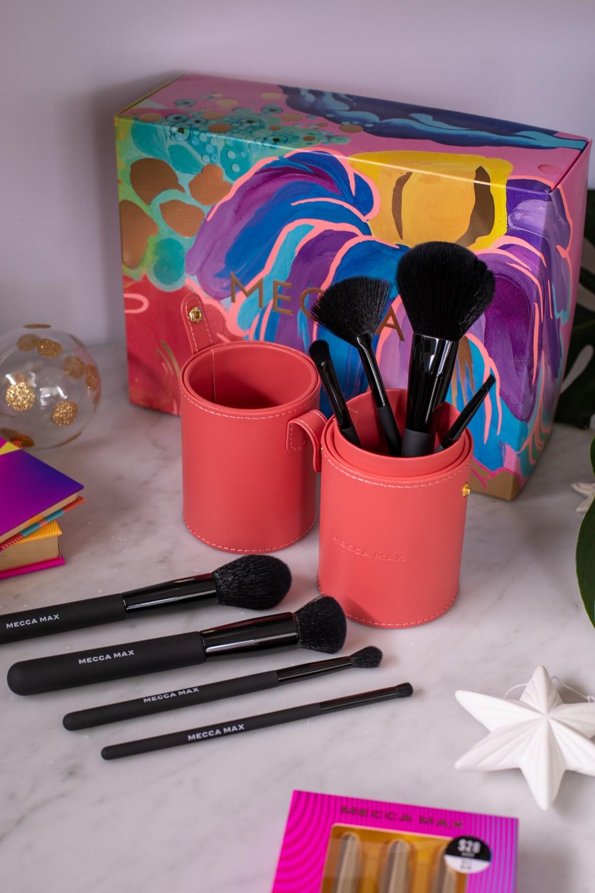 Brush Over Brush Set from Mecca Max for Christmas 2020 on Inspiring Wit blog