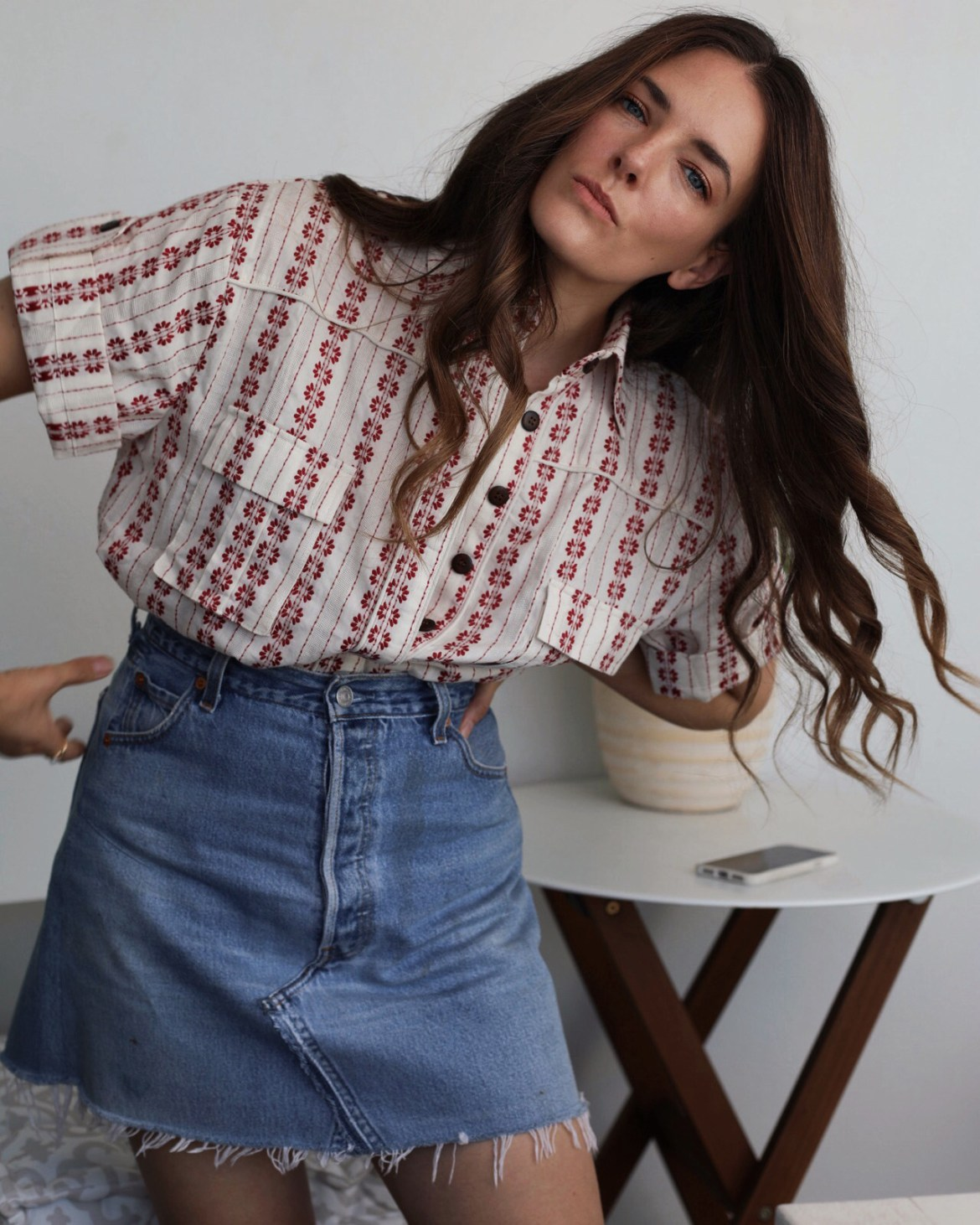 the perfect casual shirt update for summer from Bohemian Traders