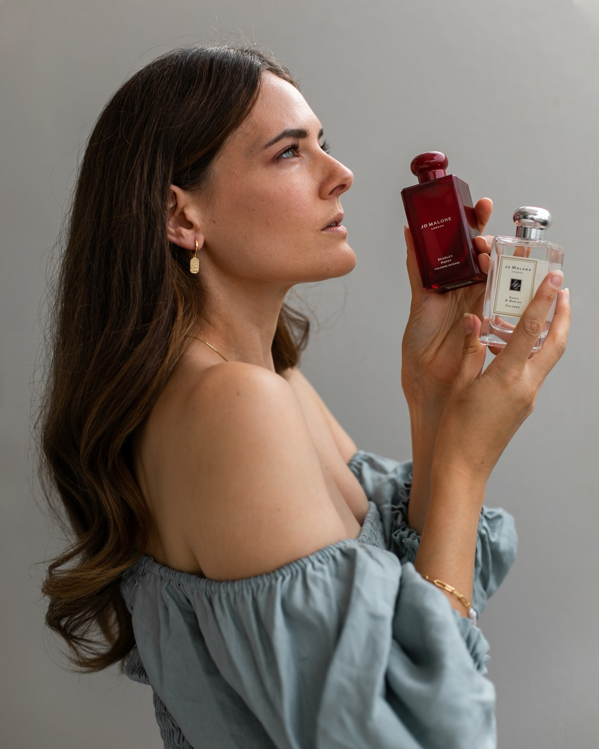 Poppy & Barley by Jo Malone London and the new Scarlet Poppy Cologne Intense for Valentine's day