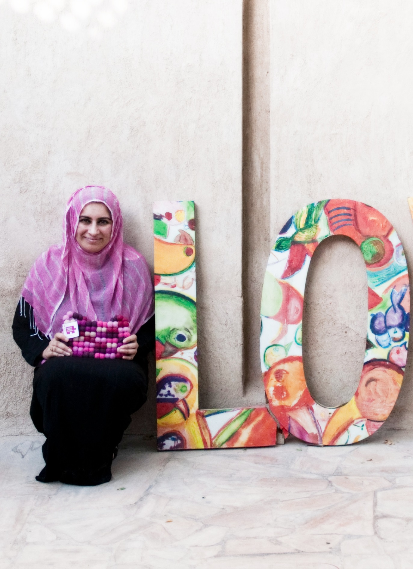 Photo of Sabeena Ahmed, The Little Fair Trade Shop