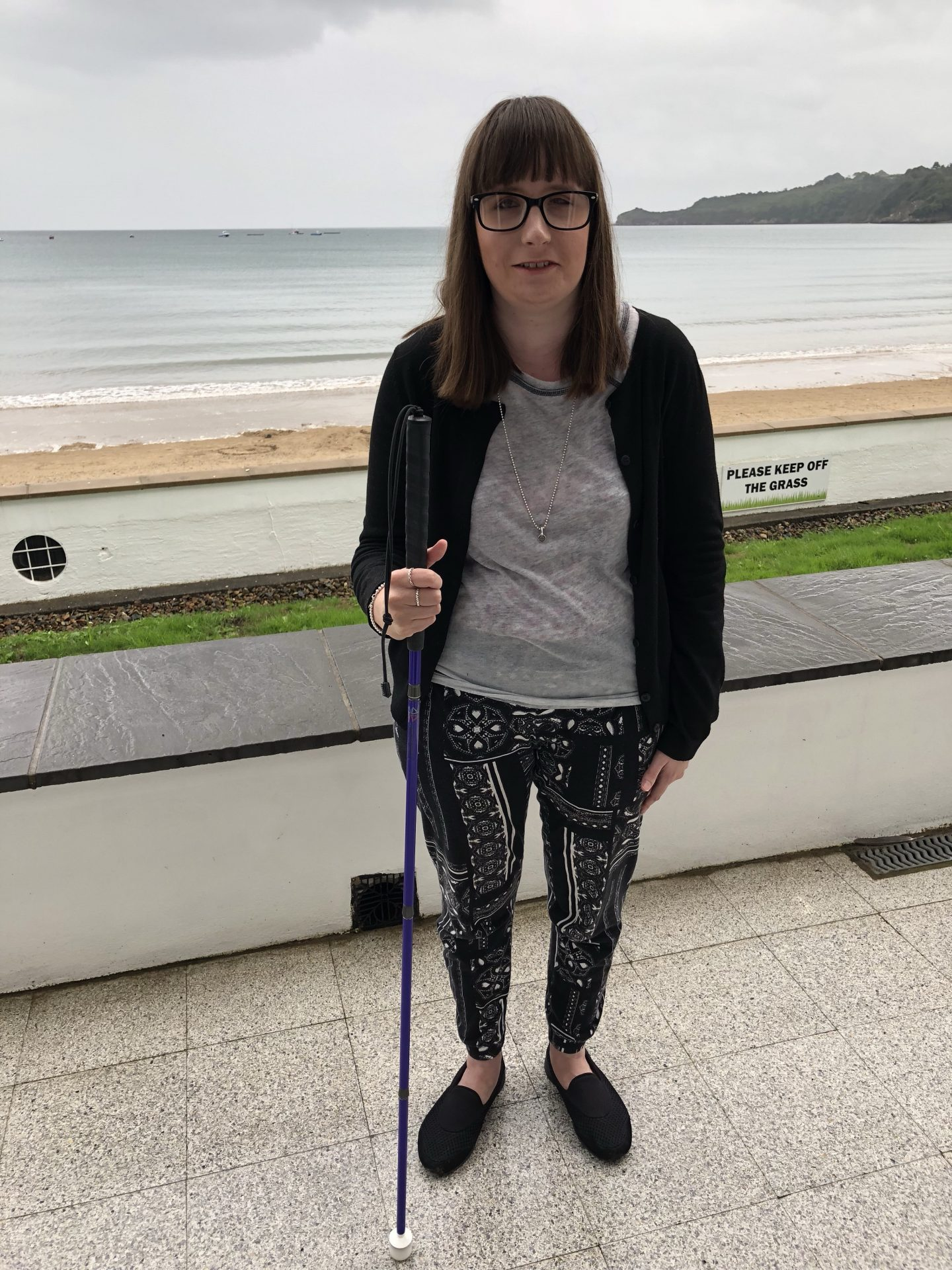 Photo of Holly Tuke, Blogger at Life of a Blind Girl