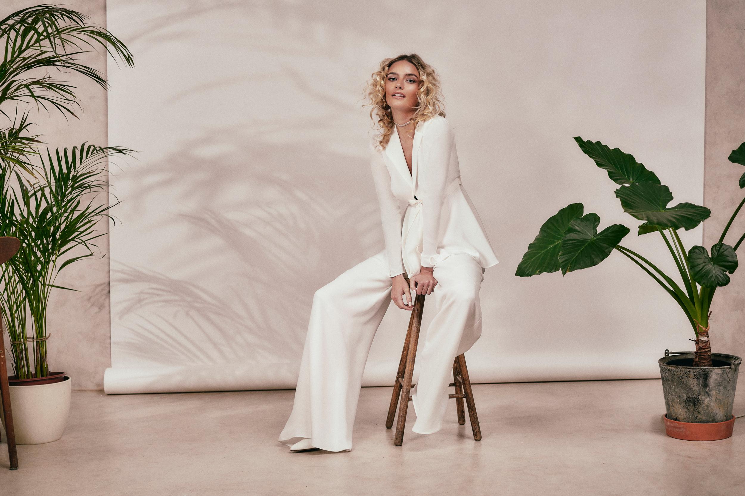 Stephanie Allin - Spirit 2021 Collection - Annie Jacket and Garbo Trouser