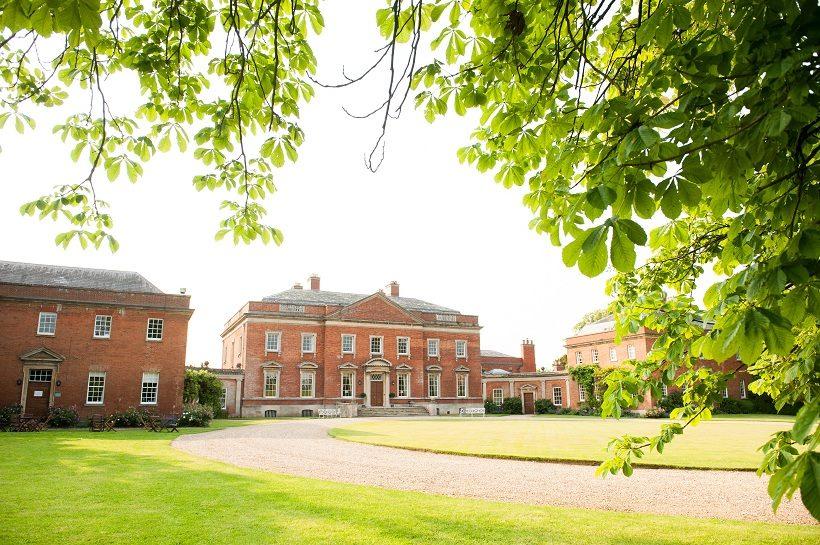 Kelmarsh Hall wedding venue on the Northampton Leicestershire border