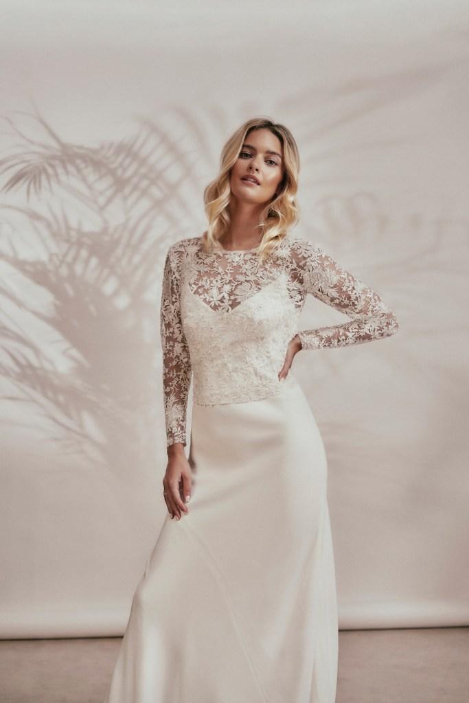 Stephanie Allin wedding gown