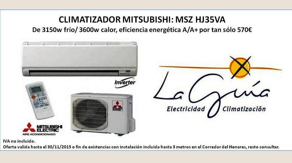 Oferta Clima Mitsubishi