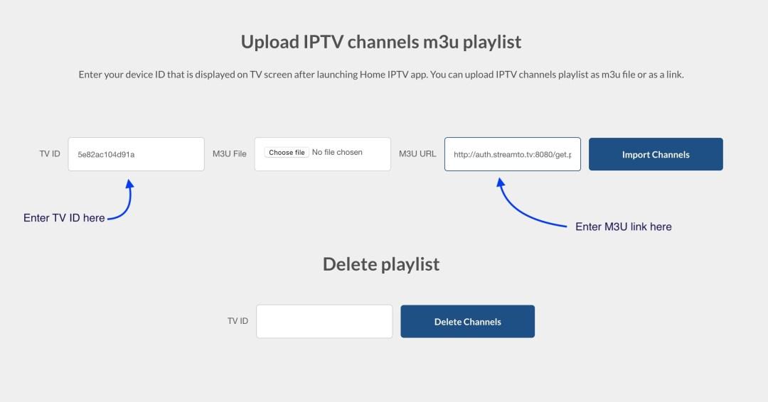 Installeer HOME IPTV stap 2