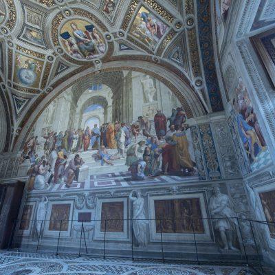 Historische ruimte in Vaticaan voorzien van speciale klimatisering