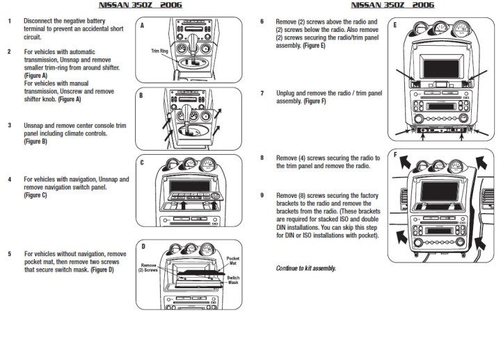 2006 Nissan 350z Parts Diagram | Newmotorjdi co