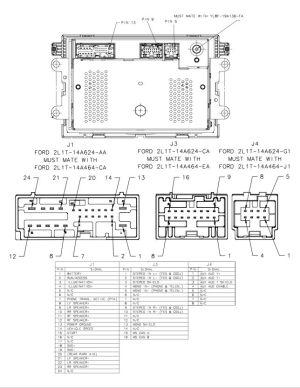 2008 GT stereo wiring diagram  MustangForums