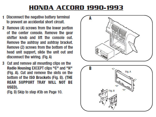 1990 Honda Accord Stereo Wiring Diagram - Wiring Diagram ...