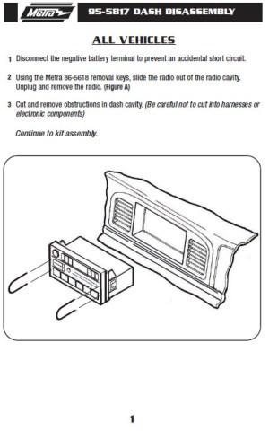 1997FORDECONOLINEinstallation instructions