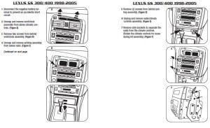 1999LEXUSGS300installation instructions