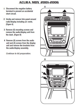 2002ACURAMDXinstallation instructions