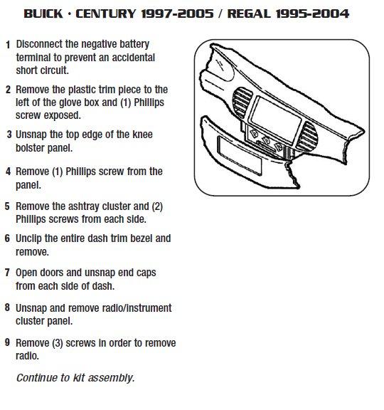 2001 Buick Regal Radio Wiring Diagram Periodic Diagrams Science