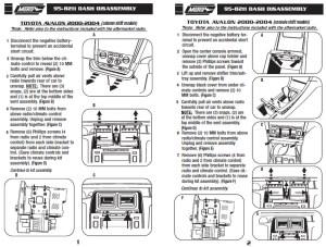 2002 toyota avalon radio wiring diagram  wiring online