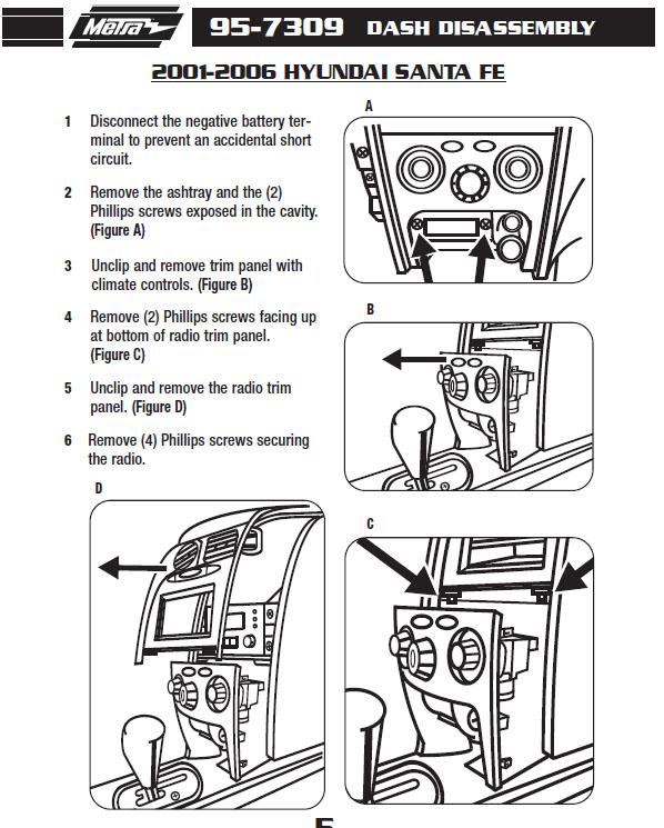 1997 Hyundai Accent Car Stereo Wiring Diagram