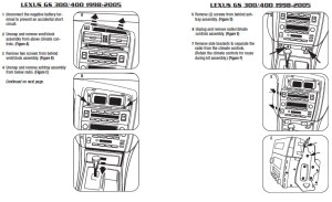 2003LEXUSGS300installation instructions