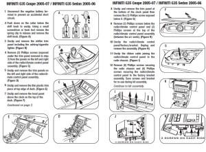 2005INFINITIG35 Coupeinstallation instructions