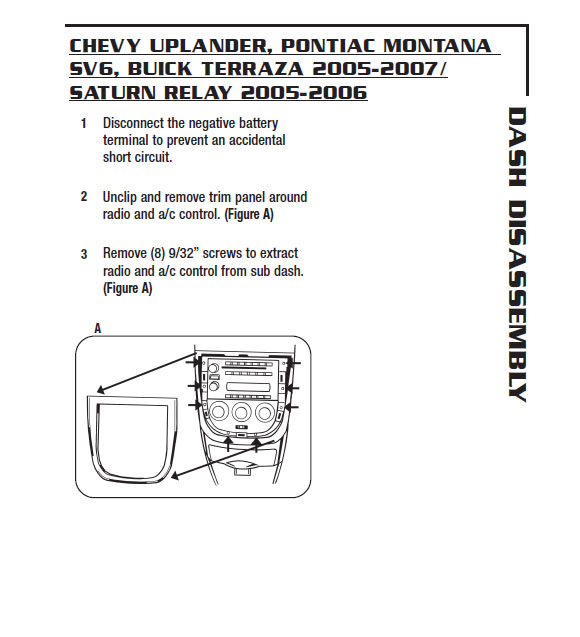 2006 Chevy Uplander Wiring Diagrams Heater