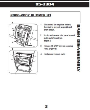 2006HUMMERH3installation instructions