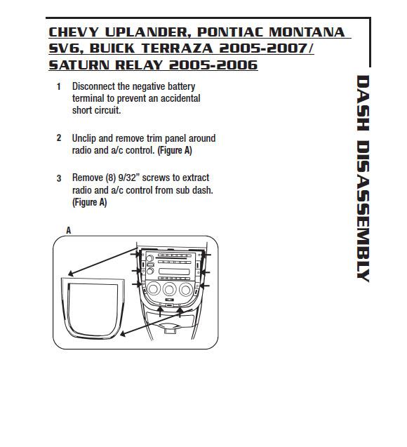 2006 Chevy Impala Radio Wiring Diagram - Wiring Diagram
