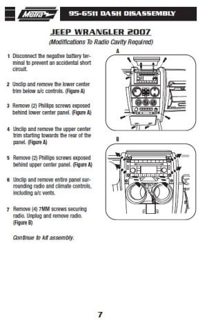 2007JEEPWRANGLERinstallation instructions