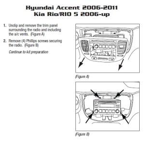 2007KIARIOinstallation instructions