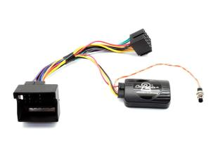 Mini Cooper Harman Kardon Amplifier Integration Retention Harness with Steering Wheel Interface