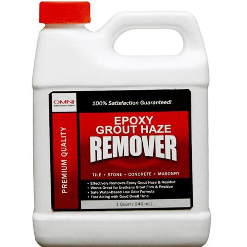 omni epoxy grout haze remover